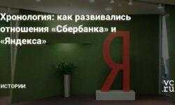 Хронология: как развивались отношения «Сбербанка» и «Яндекса»