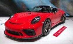 Юбилейный спорткар Porsche 911 Speedster выйдет в 2019 году тиражом 1948 единиц