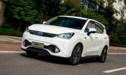 Запас хода нового электрокара GAC Mitsubishi Motors превышает 400 км