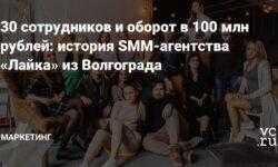 30 сотрудников и оборот в 100 млн рублей: история SMM-агентства «Лайка» из Волгограда