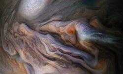 Фото дня: причудливые узоры в атмосфере Юпитера