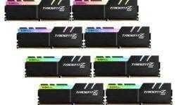 G.Skill представила высокоскоростные комплекты Trizent Z DDR4 большой ёмкости