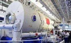 Китай показал модель своей будущей космической станции