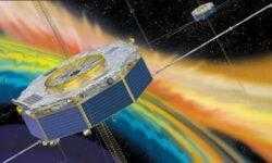 Космический аппарат наблюдал взрыв в магнитном поле Земли