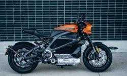 LiveWire: электрический мотоцикл в представлении Harley-Davidson