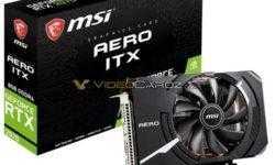 MSI GeForce RTX 2070 Aero ITX — самая компактная видеокарта на базе Turing