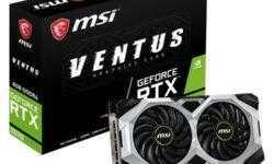 MSI GeForce RTX 2070 Ventus 8G: видеокарта с вентиляторами TORX Fan 2.0