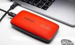 Новая статья: Обзор внешнего накопителя Samsung Portable SSD X5: чемпион на проводе