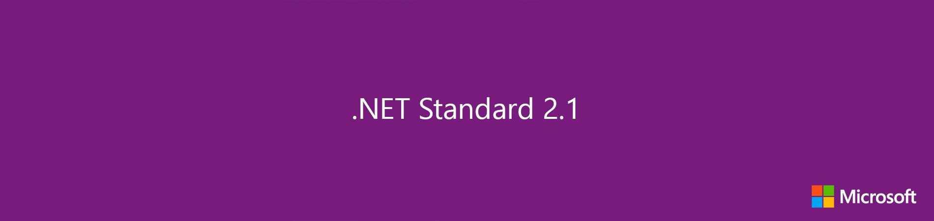 Фото [Перевод] .NET Standard 2.1