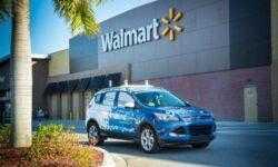 Робомобили Ford займутся доставкой товаров из супермаркетов Walmart