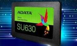 SSD-накопители ADATA Ultimate SU630 используют память 3D QLC NAND