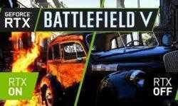 Трассировка лучей в Battlefield V снижает частоту кадров более чем в два раза