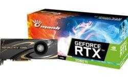 Видеокарты Manli GeForce RTX 20 оснащены вентилятором Blower Fan