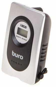 Использование внешнего беспроводного термометра Buro H999 совместно с самодельными устройствами