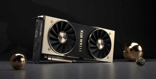 Фото NVIDIA представила Titan RTX: самая мощная потребительская видеокарта оценена в 222 000 рублей