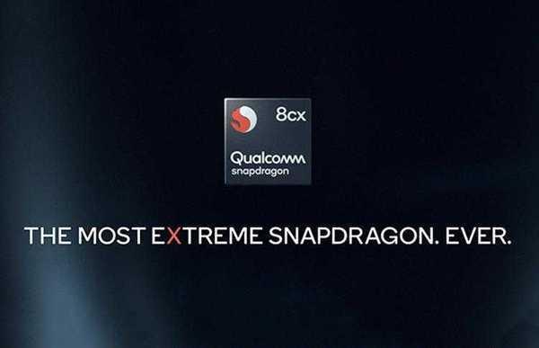 Фото Snapdragon 8cx: 7-нм процессор для Windows-ноутбуков с поддержкой LTE