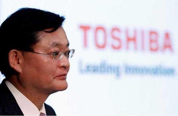 Директор Toshiba Corp Нобуаки Куруматами (Nobuaki Kurumatani, REUTERS/Issei Kato)