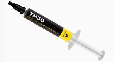 Фото Corsair представила свою первую термопасту TM30