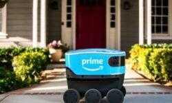 Amazon начала тестирование в Вашингтоне автономного робота Scout для доставки посылок
