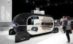 CES 2019: KIA R.E.A.D., или Интерактивное пространство в салоне робомобиля