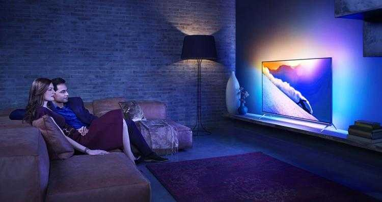 Фото CES 2019: телевизоры Philips 4K на платформе Android TV