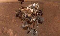 Фото дня: селфи марсохода Curiosity на хребте Vera Rubin Ridge