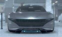 Hyundai motor group представила концепт беспроводной зарядки и автономной парковки