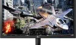 Игровой монитор LG 24GL600F-B с поддержкой FreeSync имеет время отклика в 1 мс