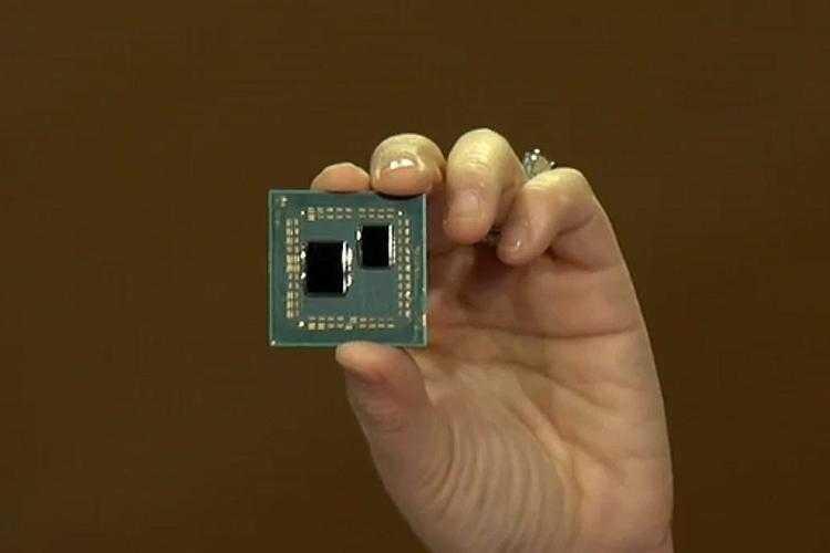 Процессор AMD Zen 2 (упаковка, похожая на Flip-Chip)