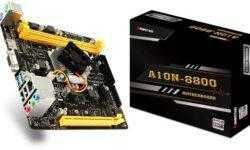 Компактная плата Biostar A10N-8800E оснащена процессором AMD FX-8800P