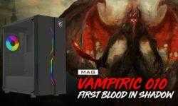 MSI MAG Vampiric 010: ПК-корпус с подсветкой Mystic Light
