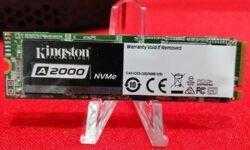 Накопители Kingston KC2000 и A2000 NVMe SSD выполнены в формате М.2 2280
