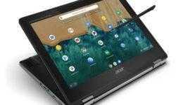 Ноутбук-трансформер Acer Chromebook Spin 512 оснащён 12″ экраном