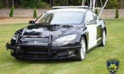[Перевод] Б\у Tesla Model S 85 на службе департамента полиции города Фримонт, штат Калифорния, США (там, где завод Tesla)