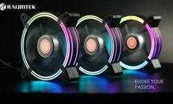Подсветка вентилятора охлаждения Raijintek Sklera 12 RBW ADD состоит из 21 светодиода