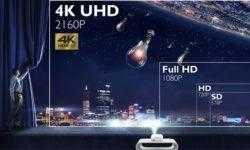 Проектор BenQ CinePrime W2700 соответствует формату 4К