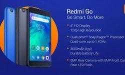 Смартфон Redmi Go начального уровня обойдётся в €80