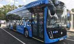 Сто новых электробусов «КАМАЗ» выедут на дороги Москвы