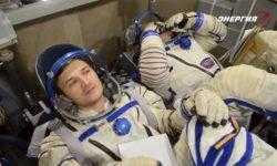 Видео дня: первый «полёт» космонавтов на корабле «Федерация»