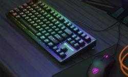 Cougar Puri TKL RGB: компактная игровая клавиатура механического типа