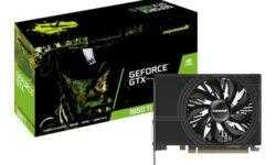 Дуэт графических ускорителей Manli GeForce GTX 1660 Ti