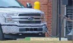 Электропикап Ford F-150 EV — в прототипе и тестируется на дороге
