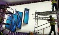 Фото дня: изгибаемый смартфон Huawei Mate X может привлечь немало внимания на MWC 2019