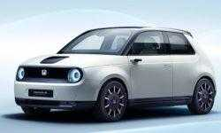 Honda e Prototype: компактный электрокар для езды в городе