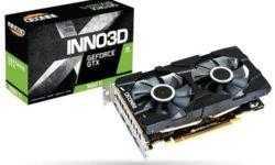Inno3D представила видеокарту GeForce GTX 1660 Ti Twin X2