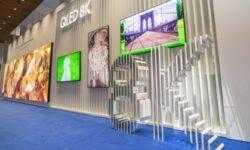 ISE 2019: Samsung продемонстрировала первые QLED-дисплеи с разрешением 8K, новый The Wall 8K