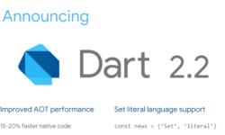 [Из песочницы] Анонсирован Dart 2.2: более оптимальный машинный код, поддержка Set литералов