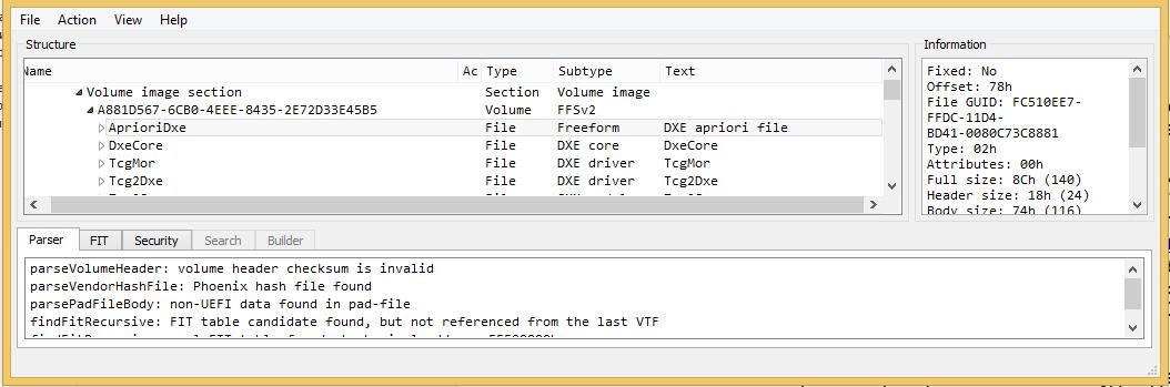 Фото [Из песочницы] Статический анализ «BIOS/UEFI» или как получить Dependency Graph