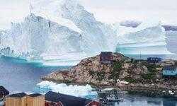 NASA нашло новый айсберг размером с Лондон