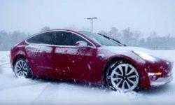 Научно доказано, что мороз и жара снижают дальность поездок на электромобиле